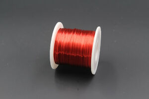 Red Enameled wire 150g, 0.5mm, 24AWG, 85m, Enamelled Copper Coil, Magnet Wire