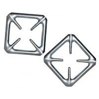 2 X stove Top Hob Gas Ring Reducer Cooker coffee Pots Maker trivet ring light