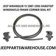 87-95 JEEP YJ WRANGLER HARDTOP WINDSHIELD FRAME CORNER SEAL KIT LH/RH 55052607