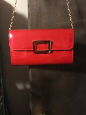 Vintage Patent Leather Chain Link Purse
