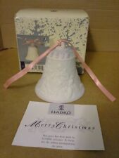 Lladro 1997 Christmas Bell Ornament #16441 Campana Navidad.Excellent Condition