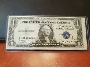 Series 1935A $1 Silver Certificate (S) Experimental Note