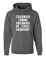 WORLDS BEST FARTER Funny Hoodie Christmas Xmas Birthday Gift Hoody Hood fathers