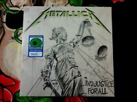 METALLICA AND JUSTICE FOR ALL SEALED EXCLUSIVE WALMART COLORED VINYL LIMITED