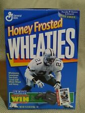 Dallas Cowboys Deion Sanders 1996 Honey Frosted Wheaties Sega Sports Cereal Box