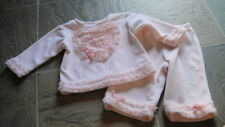 BOUTIQUE BABY BISCOTTI 9M 9 MONTHS OUTFIT HEART