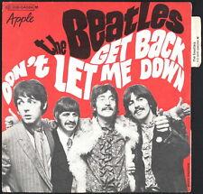 THE BEATLES - Get Back - 1969 France SP 45 tours