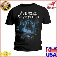 Avenged Sevenfold Winged Death A7x Rock Licensed Tee T Shirt Men