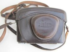 Leica M2, M3, M4 camera case with strap, smaller N America size screw NICE
