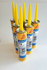 New listing 8 Tubes Sikaflex 1A Construction Sealant Limestone 10.1 oz