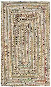 Braided Natural Jute Cotton Attractive Cool 100 % Handmade Outdoor classic Rugs