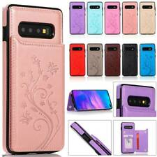 Magnetic Leather Wallet Card Case Cover For Samsung Galaxy S10e S9 S8 Plus S10