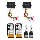 2x Wireless Winch Remote Control Kit DC12V 50ft for Car Truck Jeep SUV ATV Auto