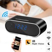 1080P Wifi Mini Security IP SpyCamera Camera Clock Wireless Motion Smart Cam BN