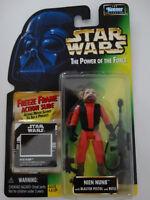1997 Star Wars POTF Nien Nunb Freeze Frame Action Slide Action Figure