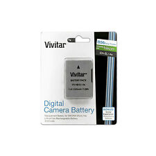 Vivitar EN-EL14a Battery for Nikon DF D5300 D5500 D5100 D5200 D3300 D3200 D3100