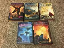Lot of 5 - THE UNWANTEDS Series Lisa McMann HC / SC Books 1 2 3 4 5 FREE SHIP !