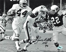 Leroy Kelly signed Cleveland Browns B&W 8X10 Photo HOF 94 (vs Cardinals)