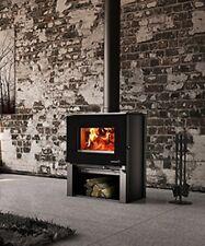 Wood Heater Enerzone Destination 1.6 Pedestal Fireplace