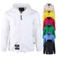 Men Teen's Lightweight Windbreaker Active Hooded Fashion Novetly Casual Jacket