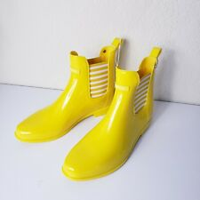 Nautica Yellow Cliff Port Womens Ankle Mid Calf Waterproof Winter Rain Boot (10)