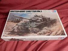 1/35 Tamiya Motorized RC LN Twin Motors Metal Gearbox British Chieftain Mk 5