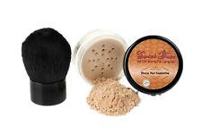 2pc FOUNDATION (WARM) & KABUKI SET Mineral Makeup Kit Bare Skin Matte Powder