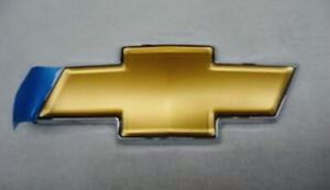 NEW Front Grille Bowtie Emblems Badge Gold 06-13 Impala 06-07 Monte Carlo