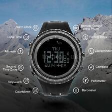BOZLUN SP03 Smart Compass Thermometer Altimeter Barometer Waterproof Watch F9Z4