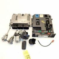 Ecu Bsi Key Locks 9666952380 0281017333 (Ref.1139) Peugeot 207 SW 1.6 Hdi