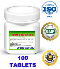 Metronidazole_100_tablets_250mg_Flagyl_Antiprotozoal_Antibiotic_Dog_Cat_Animals