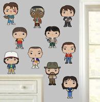 Poster 42x24 cm Stranger Things 2 Netflix Eleven Will Mike Dustin Lucas Serie 03