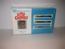 NEW SEALED Vintage Spinnerin Little Critters LOONEY LION Latch Hook Rug Kit 9152
