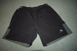 Adidas Mens Large Climacool Black Shorts