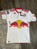 New York Red Bulls Soccer Jersey Adidas Men's Size Small BRAND NEW