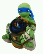 Nickelodeon Teenage Mutant Ninja Turtles Leonardo Character Plush+ Fleece Throw