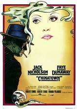 Chinatown Movie Poster 11x17 Foreign Roman Polanski Jack Nicholson Faye Dunaway
