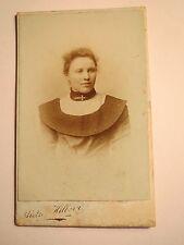 Recklinghausen - Frau im Kleid - Portrait / CDV