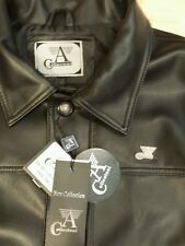 Men's Black Jacket Made in Italy A Collezioni Size M NWT Elegant!