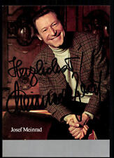 Josef Meinrad Autogrammkarte Original Signiert ## BC 33170