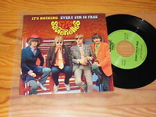 LES SAUTERELLES - IT'S NOTHING, EVERY 5TH IS / RE-ISSUE VINYL 7'' SINGLE MINT-