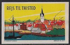 Denmark Tourism Cinderella: Travel to Thisted, Jutland - cw37d