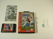 WORLD CHAMPIONSHIP SOCCER II - Sega Genesis - COMPLETE Game - TESTED - 2 - !!!