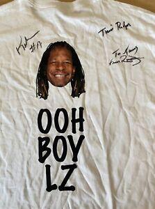 Keyshawn Johnson #19 NFL Signed T-Shirt Auto XL Football Podcast Morning Show