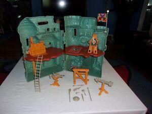 Vintage MOTU Castle Grayskull Playset Mattel near complete