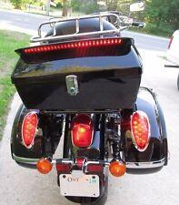 Hard Motorcycle Trunk Cases Tail Box Luggage For Suzuki w/ Rack&Backrest&Sopiler