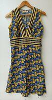 Boom Shankar Women's Floral Sleeveless Dress, Size 8 like new