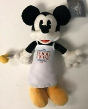 "2019 Disney California Adventure Food and Wine Festival Mickey Mouse 13"" Plush"