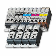 14* PACK PGI-220 CLI-221 Ink Tank for Canon Printer Pixma MP980 MP990 NEW