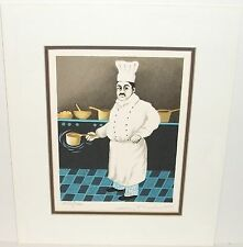"GUY BUFFET "" CHIEF"" LIMITED SIGNED LITHOGRAPH"